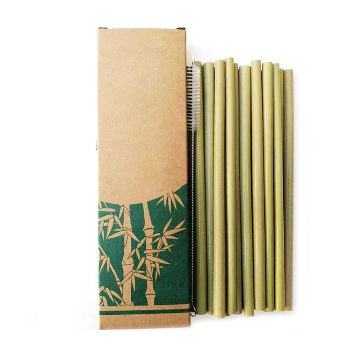 10 pailles en Bambou ecoetmoi